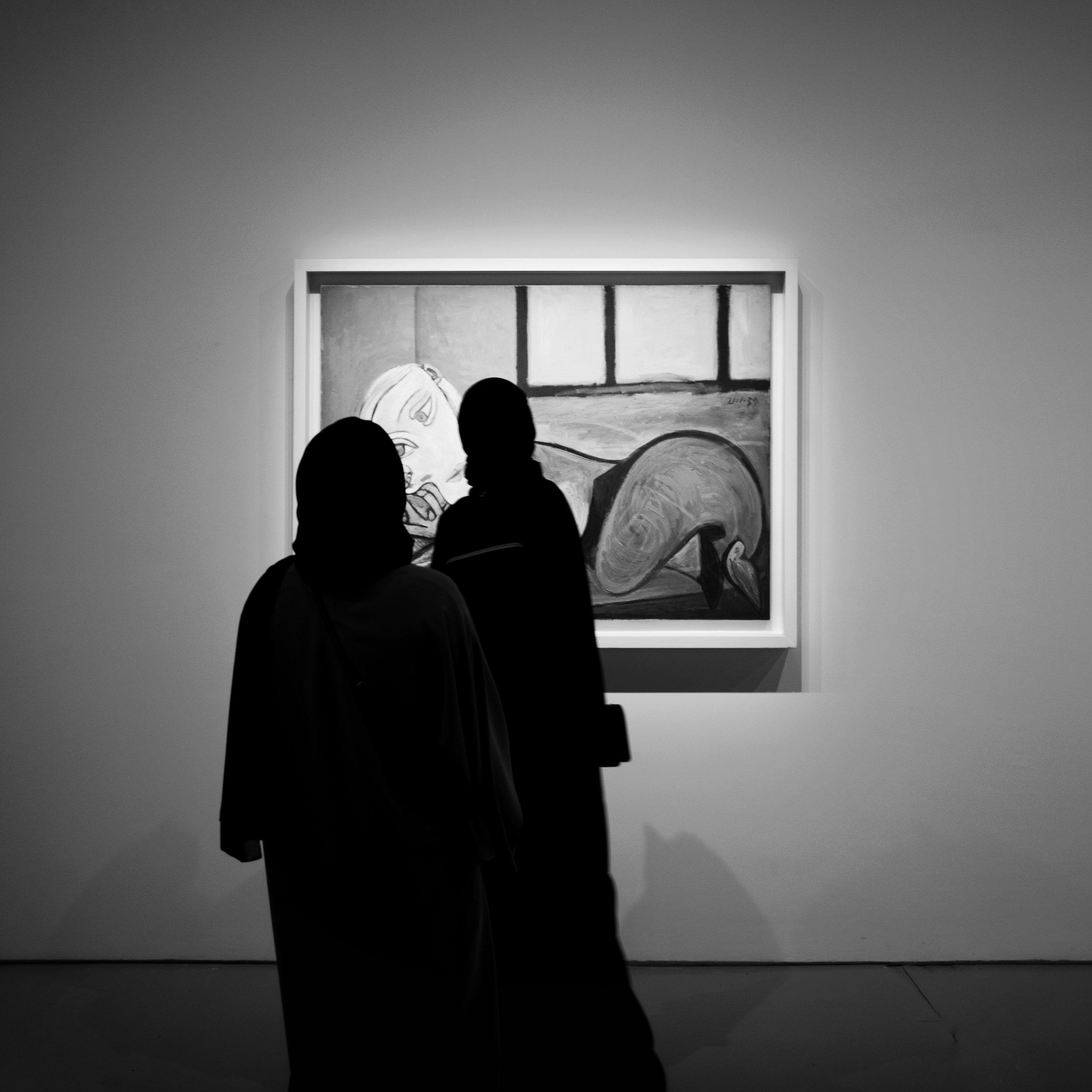 Three Ladies - that's a Picasso (Doha, Qatar)