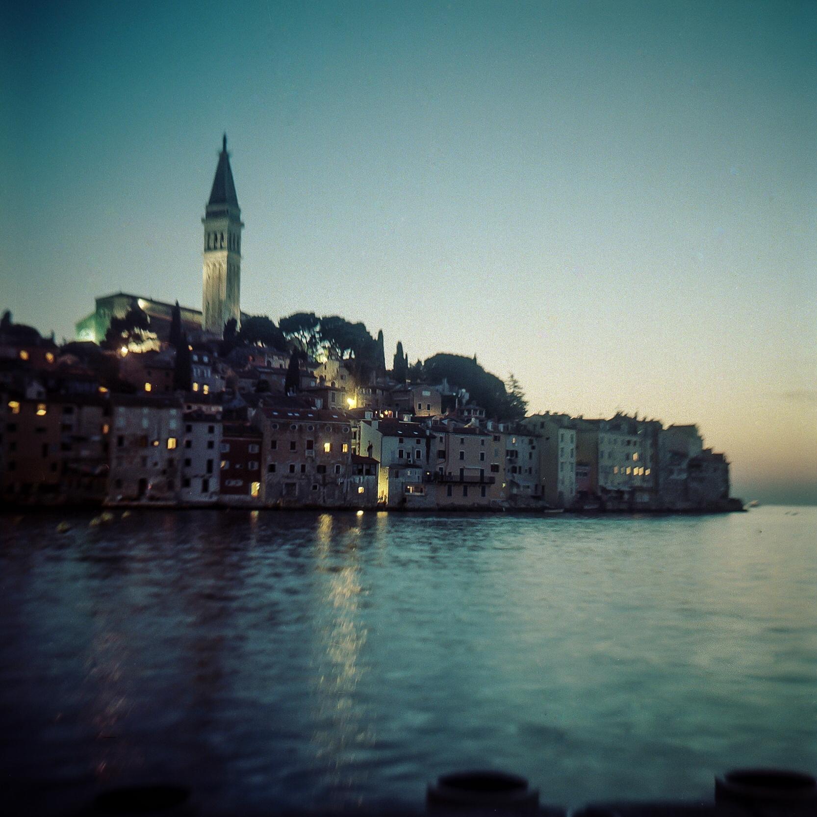 A long exposure shot (about 30 seconds) of Roninj, Croatia.