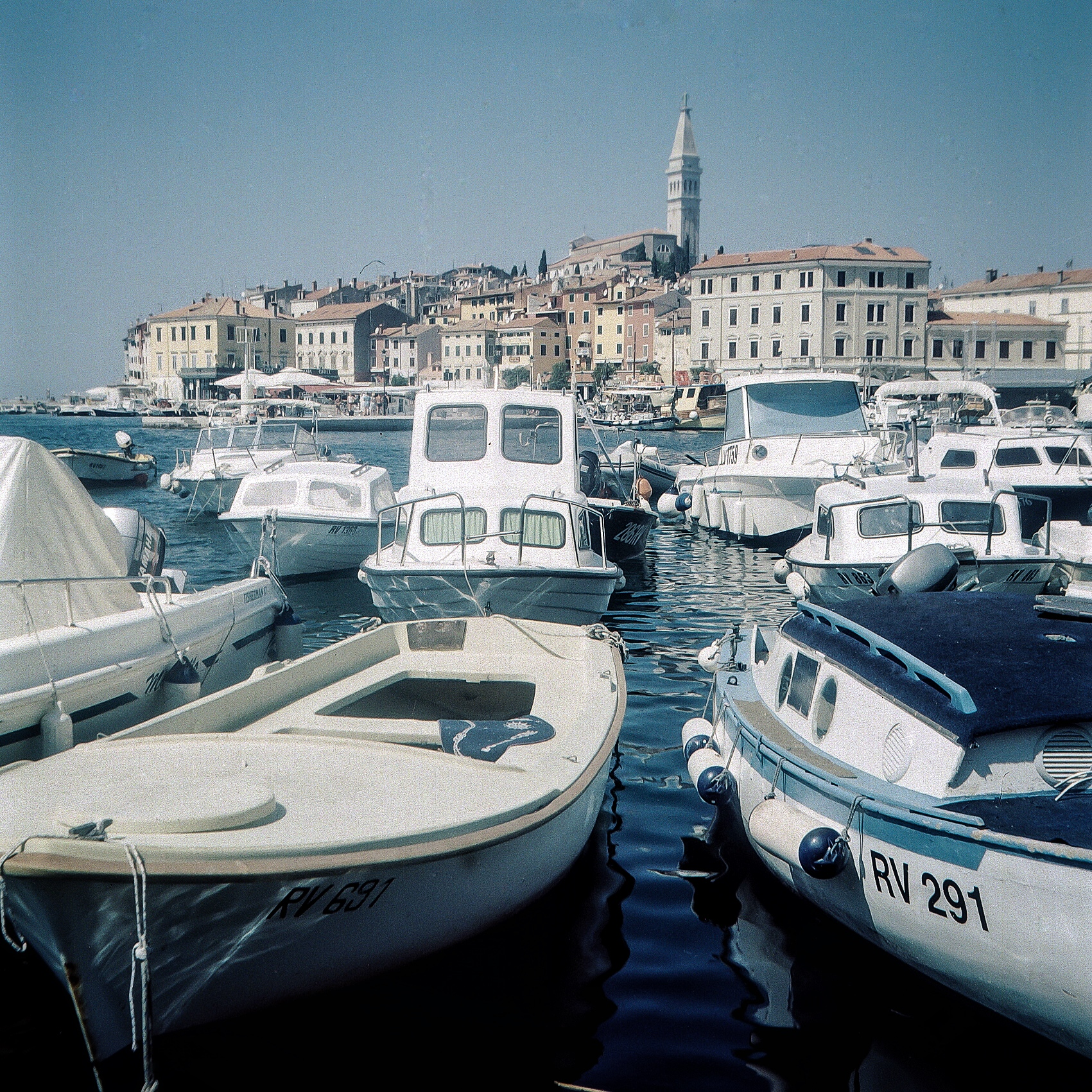 Shot in good light at a small aperture, edge sharpness is vastly improved. Rovinj, Croatia.