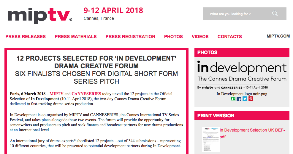 MIPTV Press Release - https://pressroom.miptv.com/download?id=6757&pn=1570a565fe1c22b1b54b0db2e9d84eb5-pdf&display=1