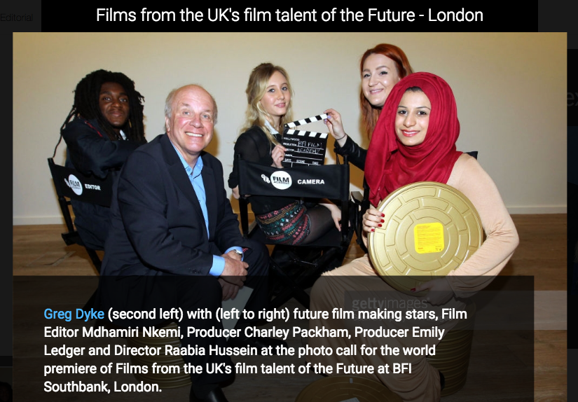 BFI Film Academy Graduates - http://www.bfi.org.uk/news-opinion/news-bfi/features/nothing-stop-now-bfi-film-academy-graduates