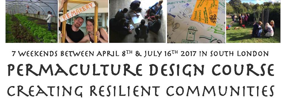 PDC Permaculture Design Course London