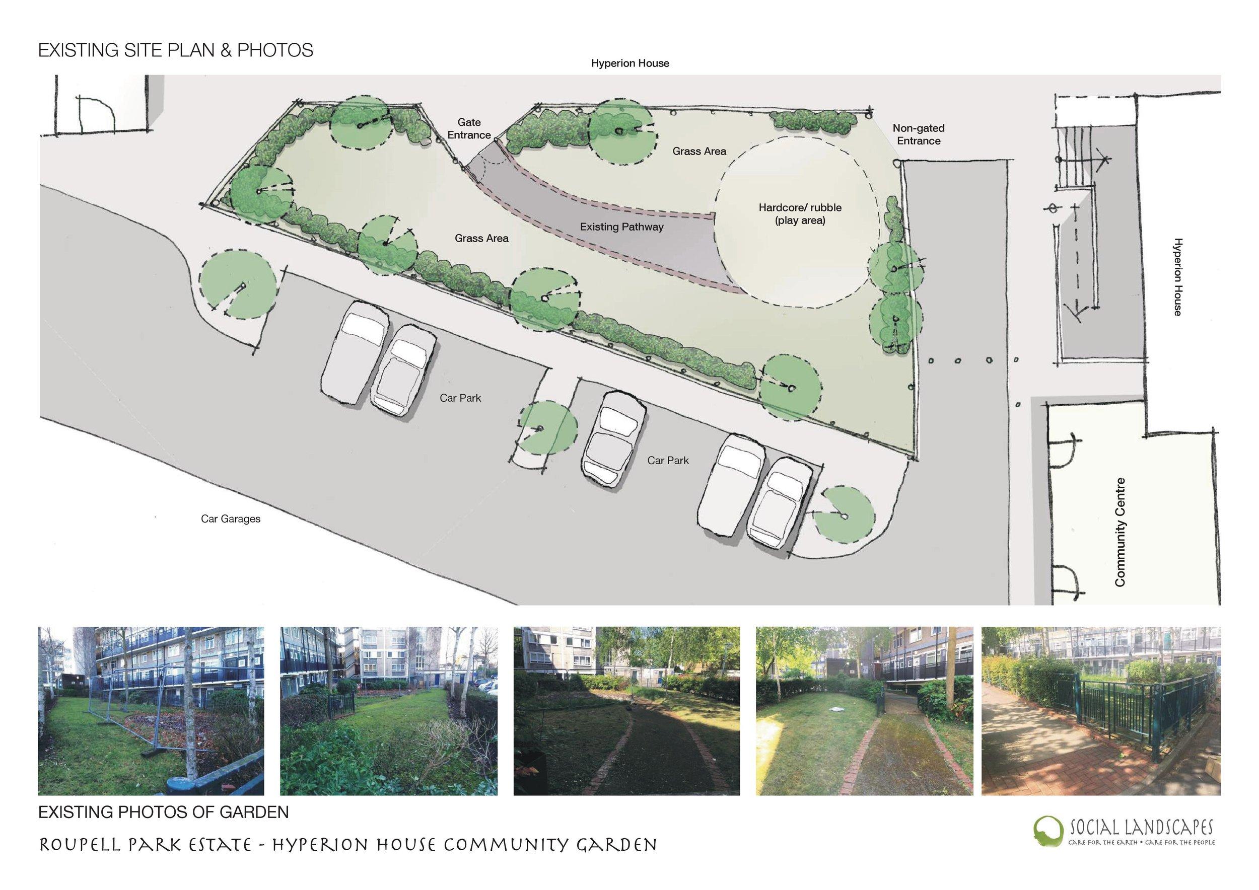 Community Design At Roupell Park Estate Social Landscapes