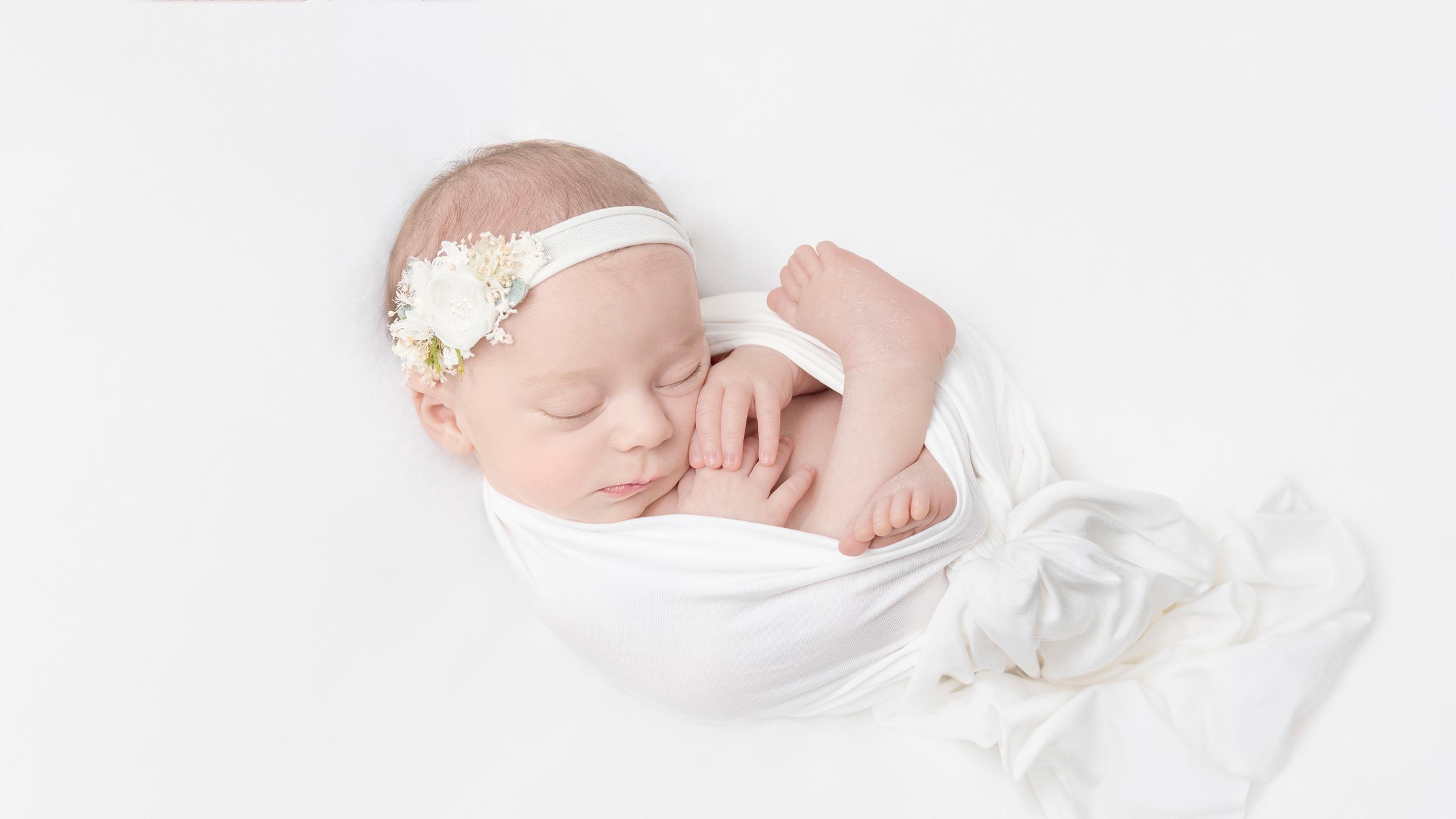 Allison Bauer Photography - Mädchen, weiß, neugeborenes baby, baby fotoshooting