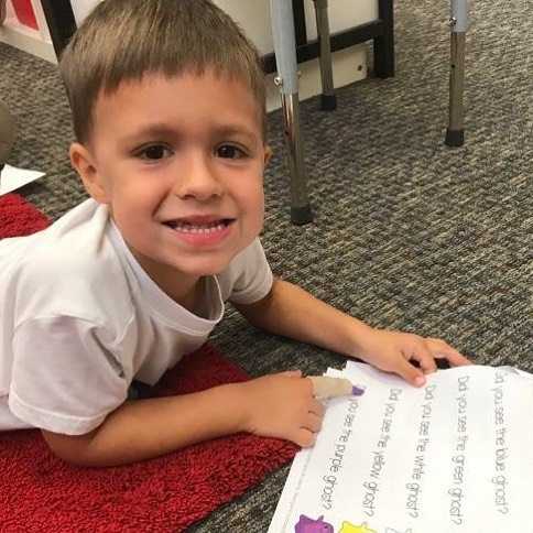 It's always fun learning at The Reading Corner. #preschooler #early #learning