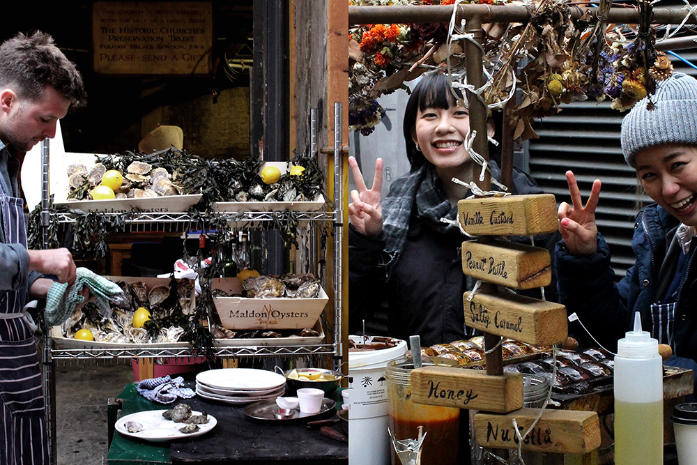 Some more happy vendors.