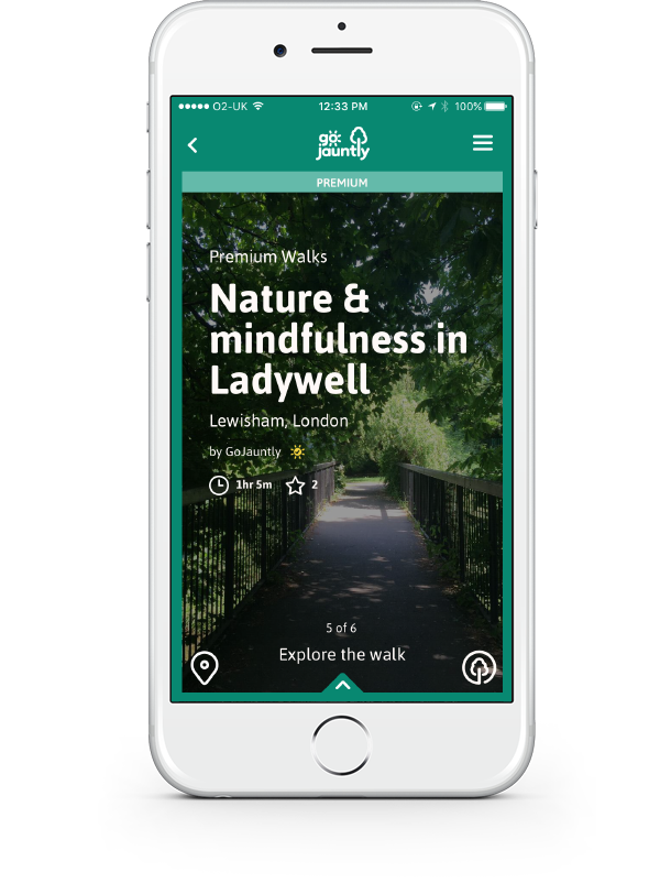 mindful walks on go jauntly