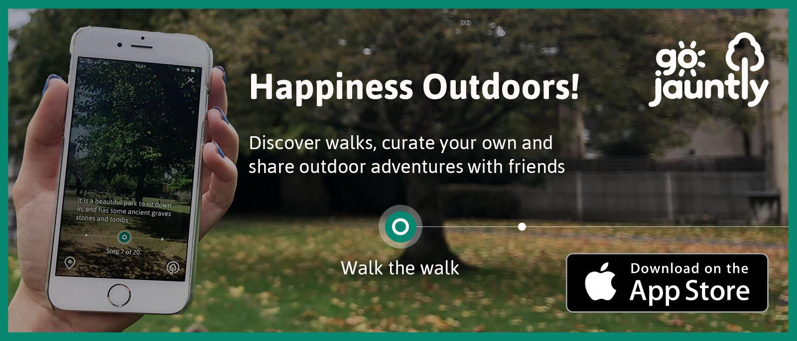 best walks in app