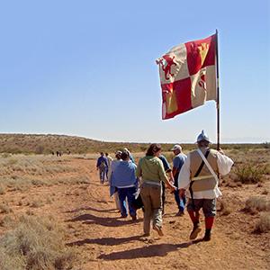 Jornada del Muerto, New Mexico Photo Credit: NPS