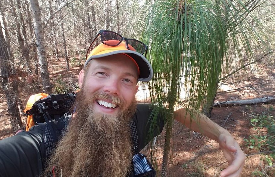 Sam Holcombe on the Florida National Scenic Trail