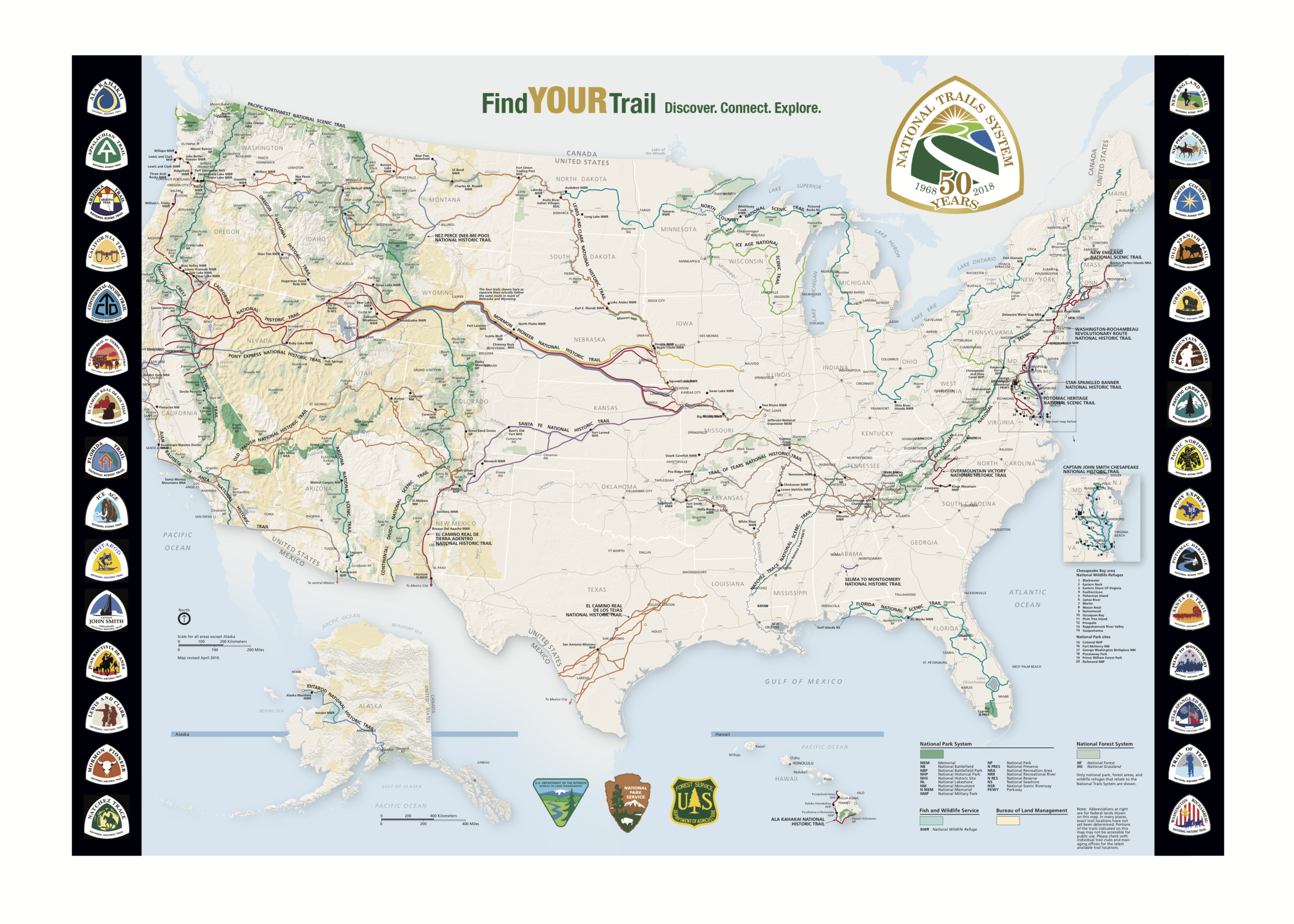 National Trails 50th Map.png