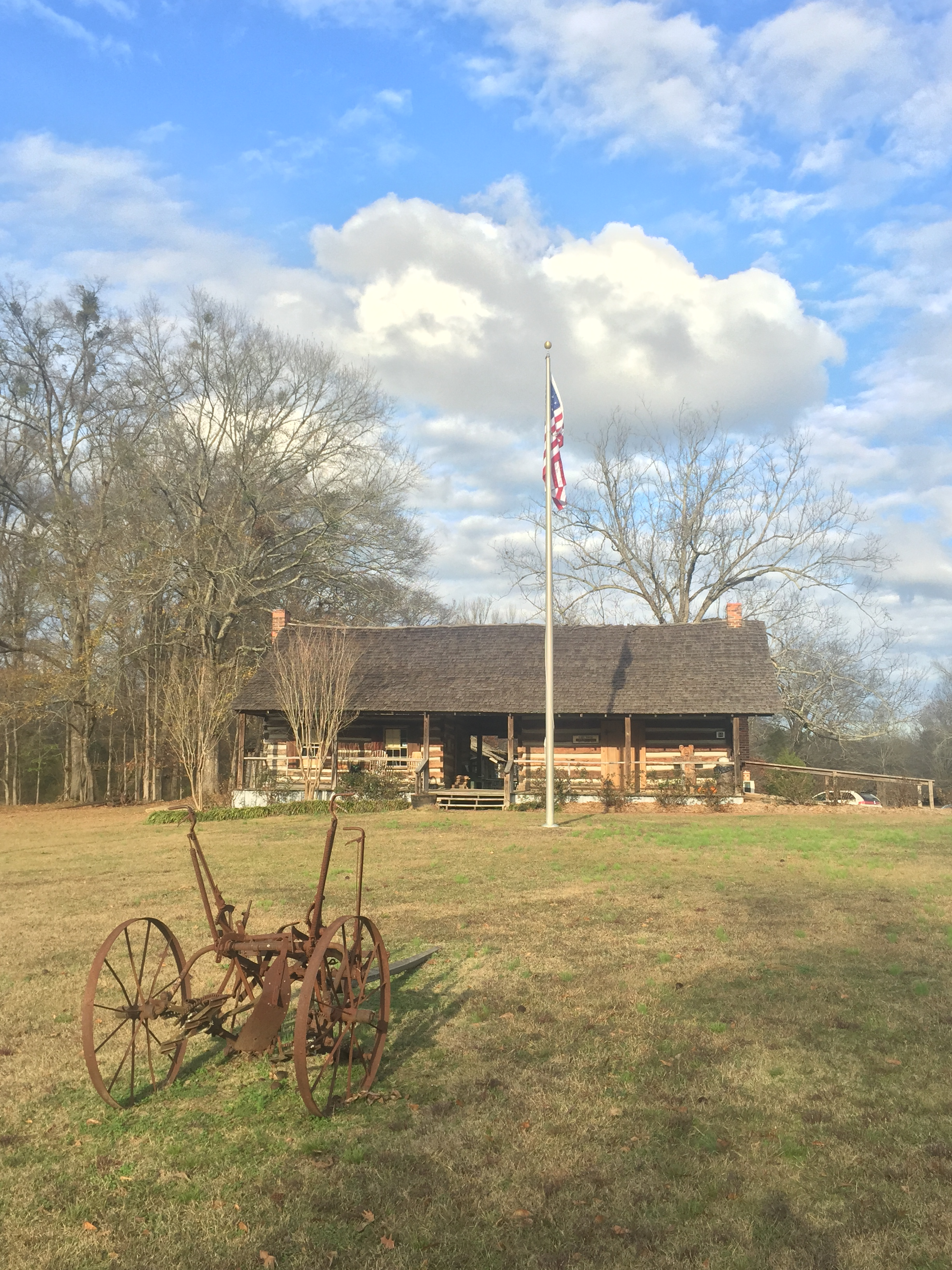 Council House at French Camp, Mississippi