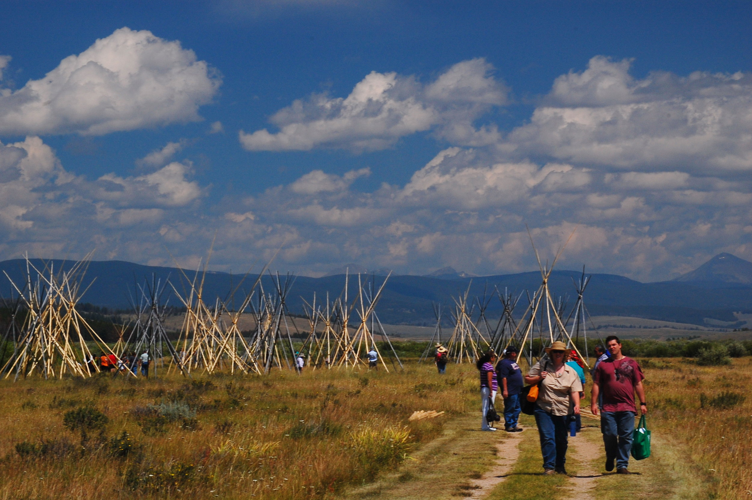 Along the Nez Perce National Historic Trail in SW Montana. Big Hole National Battlefield. US Forest Service photo, by Roger Peterson