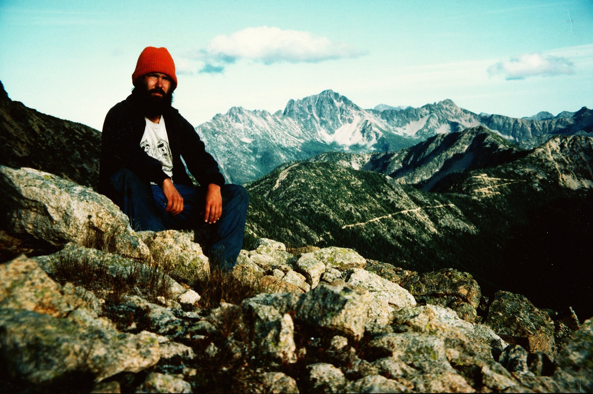 Jeffrey Ryan on the PCT in 1983
