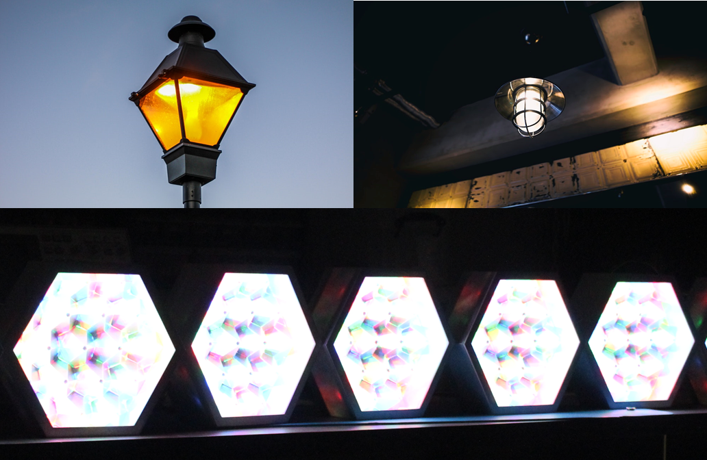 Figure 11. Lighting covers and reflective surfaces