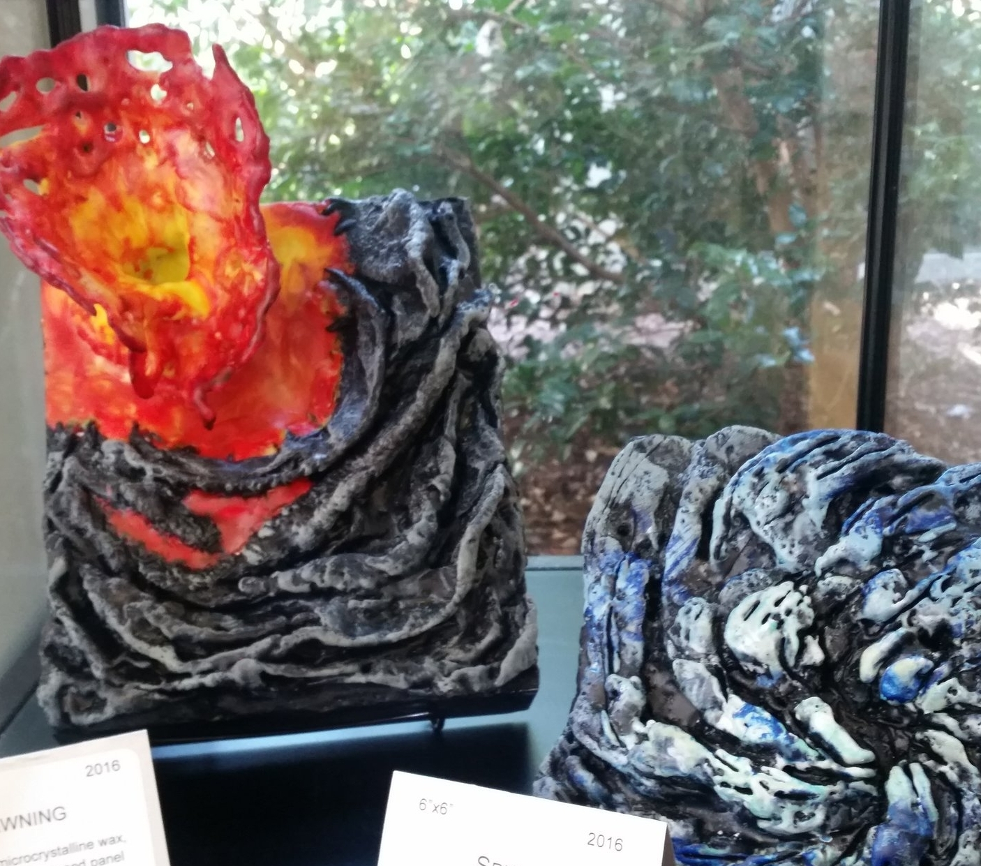Pieces from Chandler's show in Holly Springs