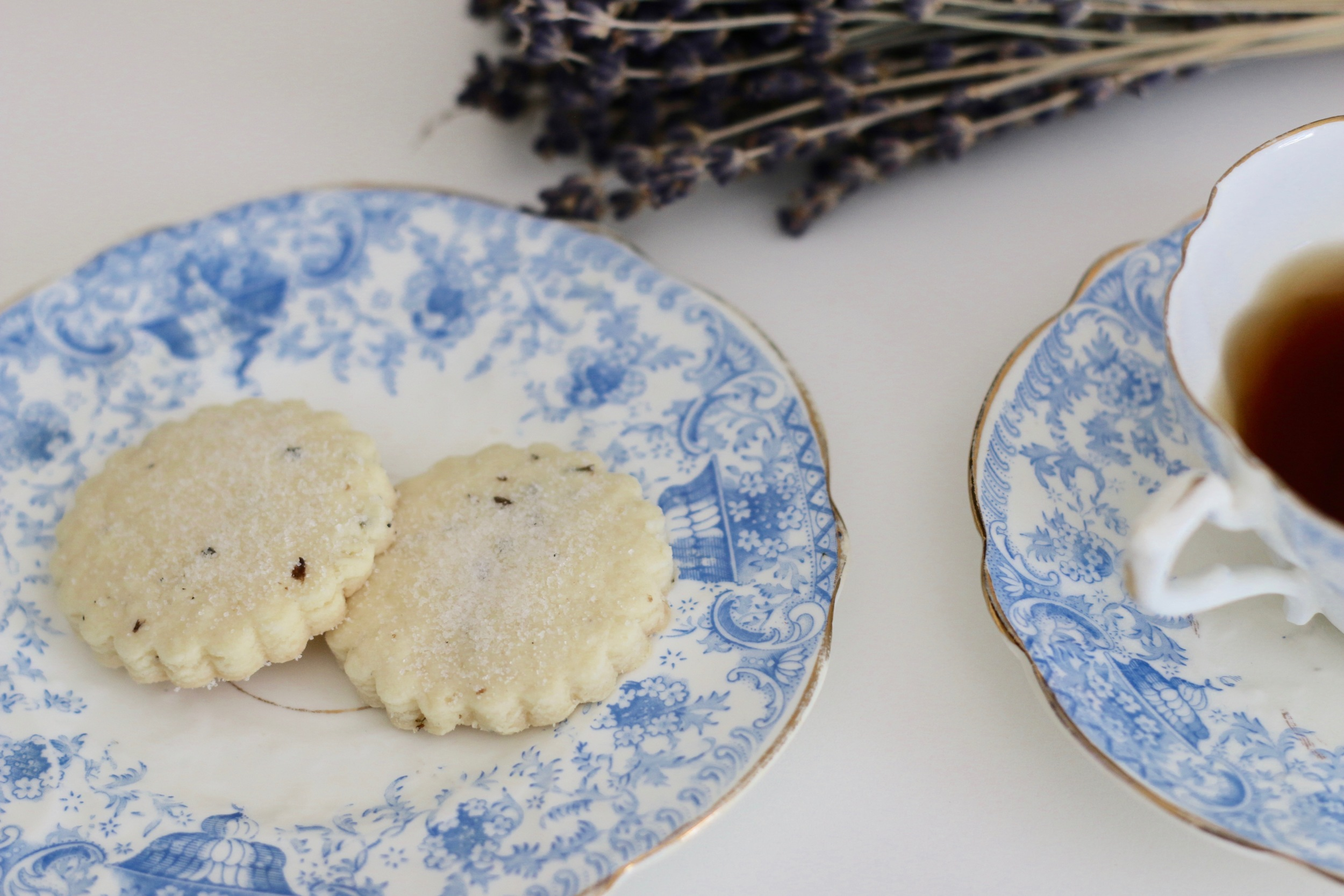 Lavender shortbread L&LBakingBlog