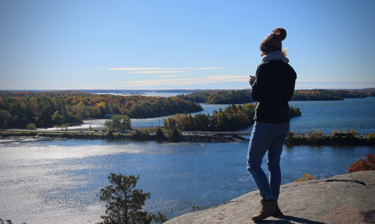 Autumn Life View From the Rock | Linden and Lavender