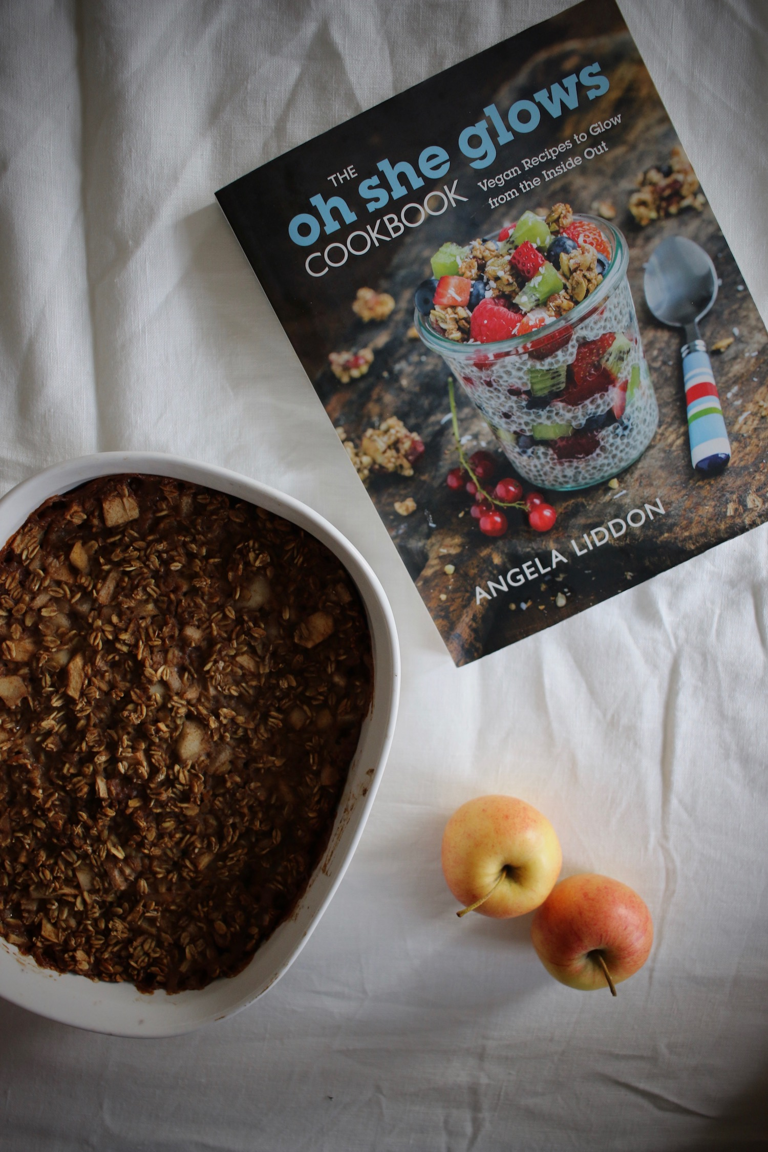 Apple and Pear Baked Oatmeal 2 | Linden & Lavender
