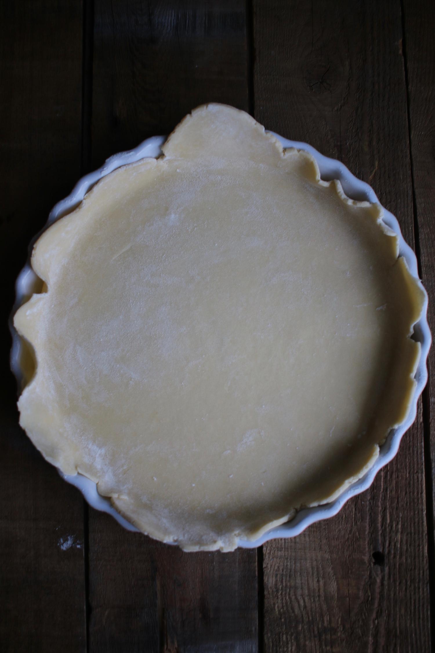 Buttery Pie Dough Crust | Linden & Lavender