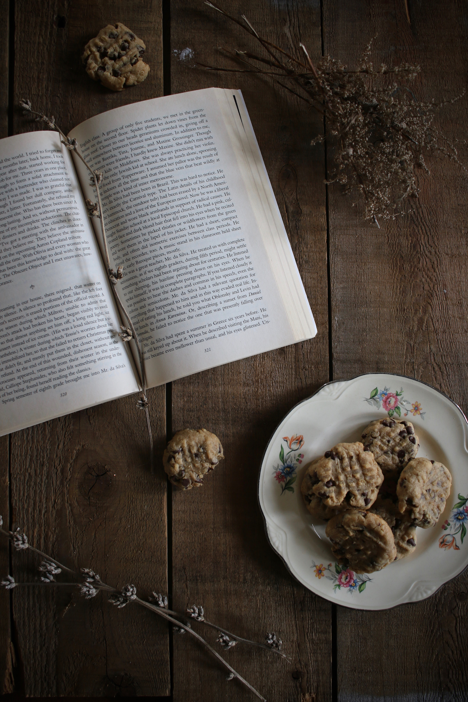 Peanut Butter Oatmeal Chocolate Chip Cookies2| Linden & Lavender