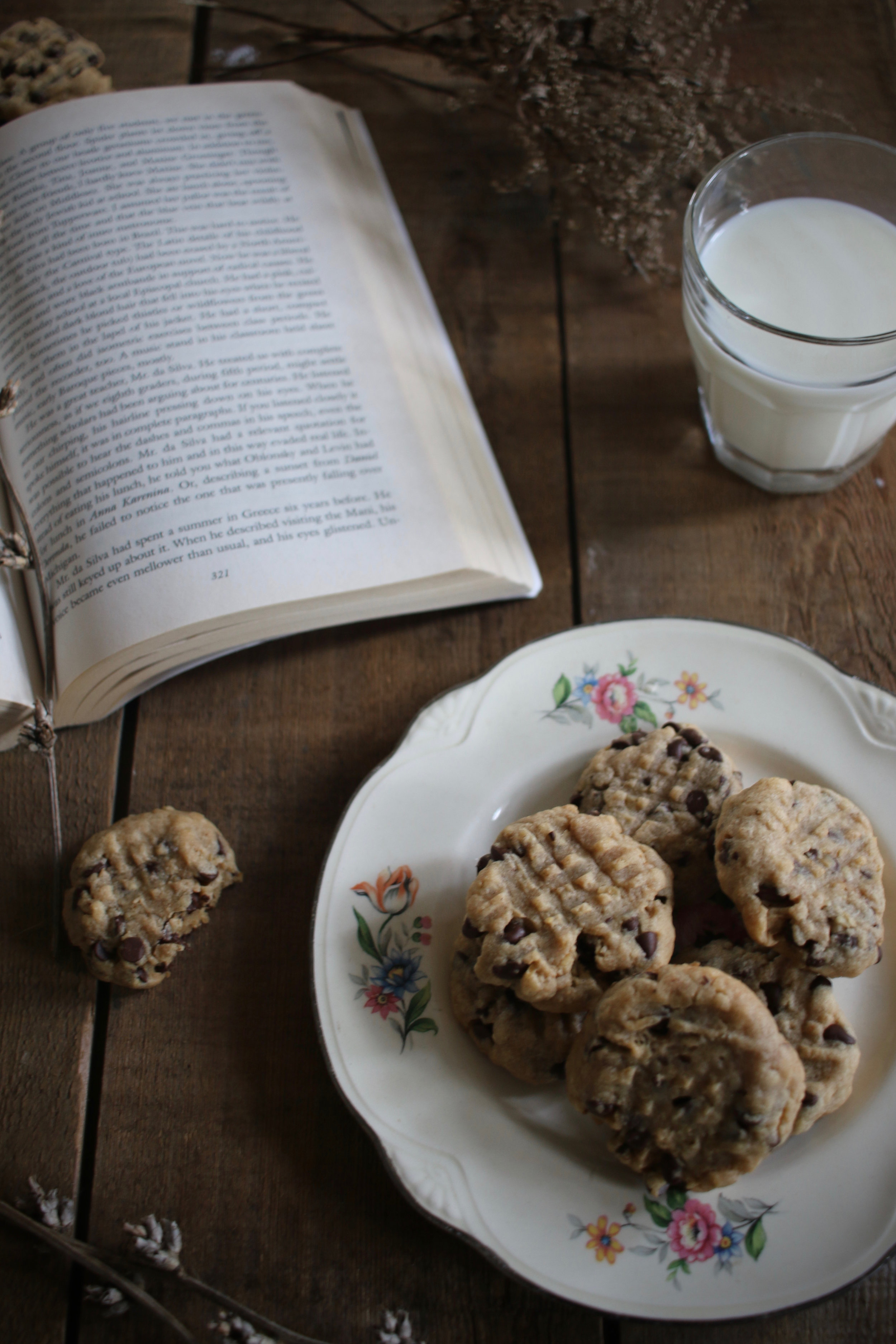 Peanut Butter Oatmeal Chocolate Chip Cookies3 | Linden & Lavender