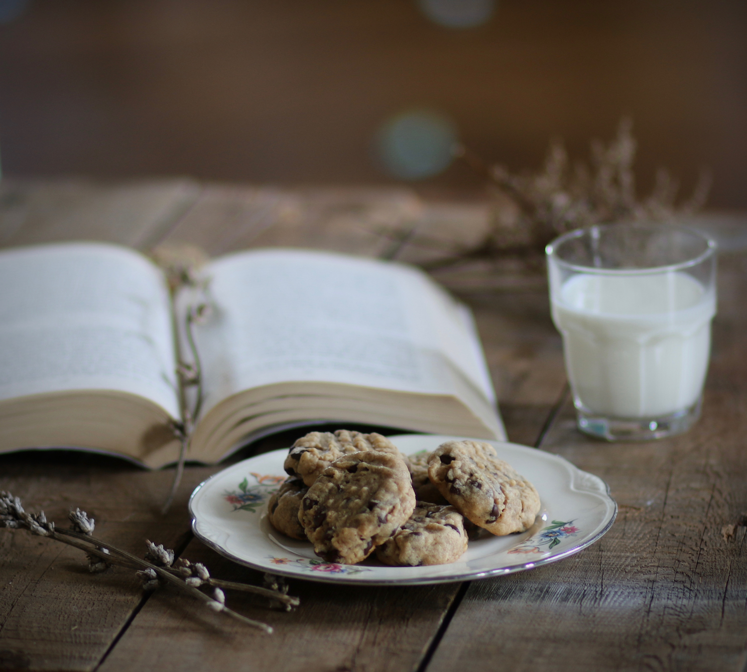 Peanut Butter Oatmeal Chocolate Chip Cookies4 | Linden & Lavender