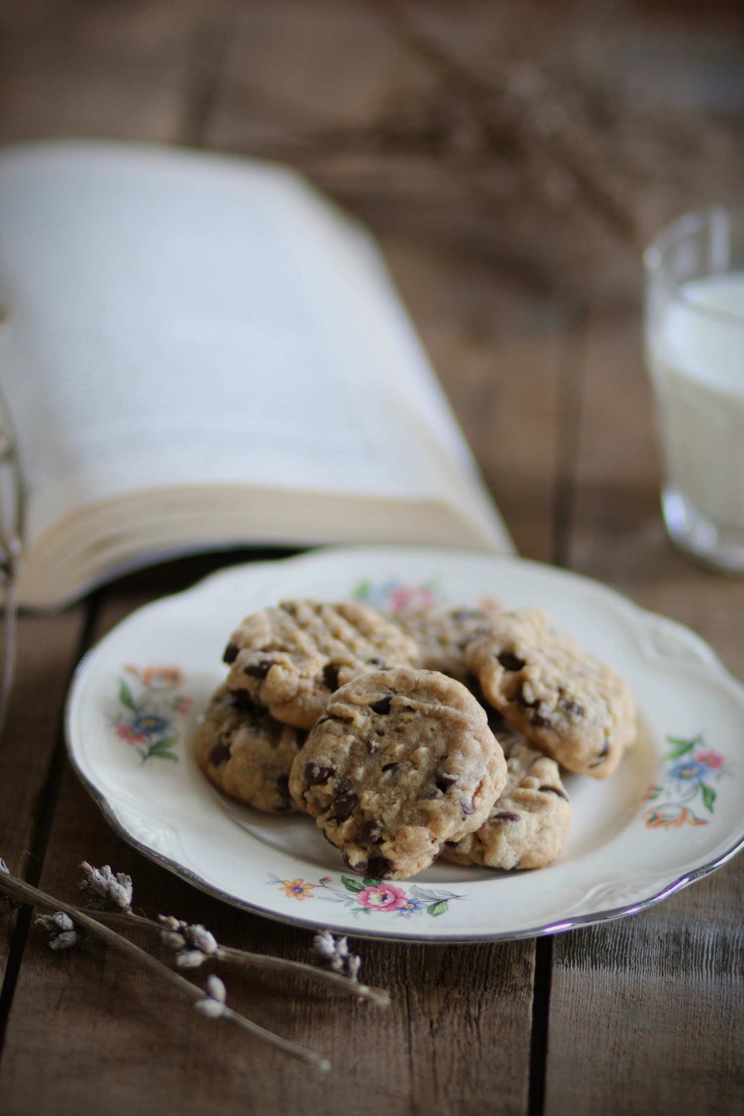 Peanut Butter Oatmeal Chocolate Chip Cookies5 | Linden & Lavender