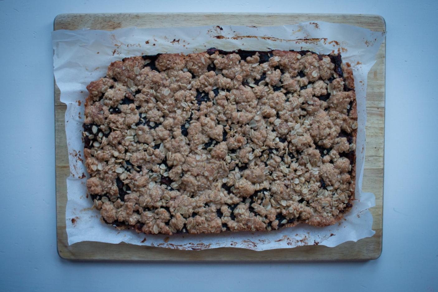 Spelt Flour Date Squares | Linden & Lavender