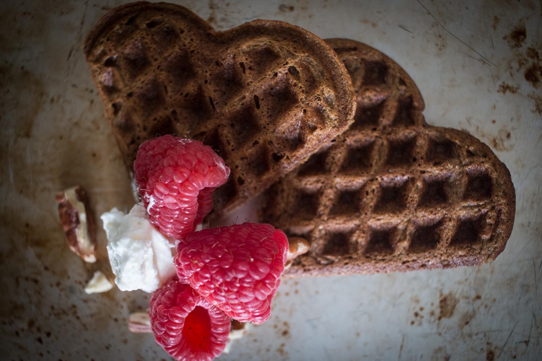Valentine Waffle Breakfast | Linden & Lavender
