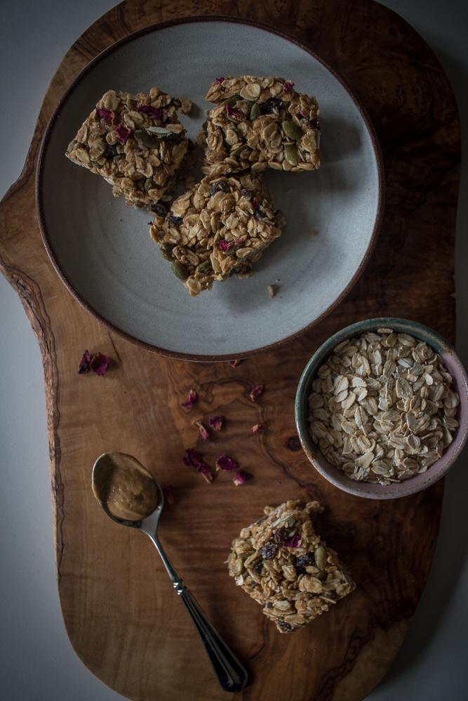 5 Minute Granola Bars | Linden & Lavender