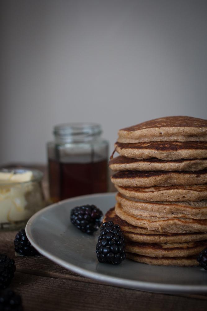 Gluten Free Banana Pancakes | Linden & Lavender