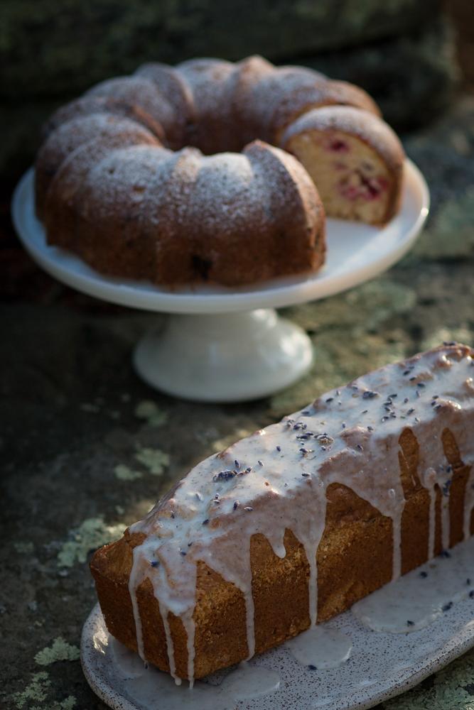 Bundt cake and lavender loaf | Linden & Lavender