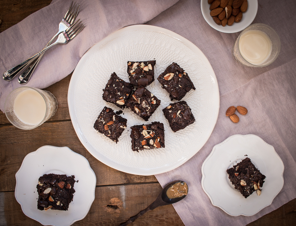 Nut Butter Brownies | Linden & Lavender