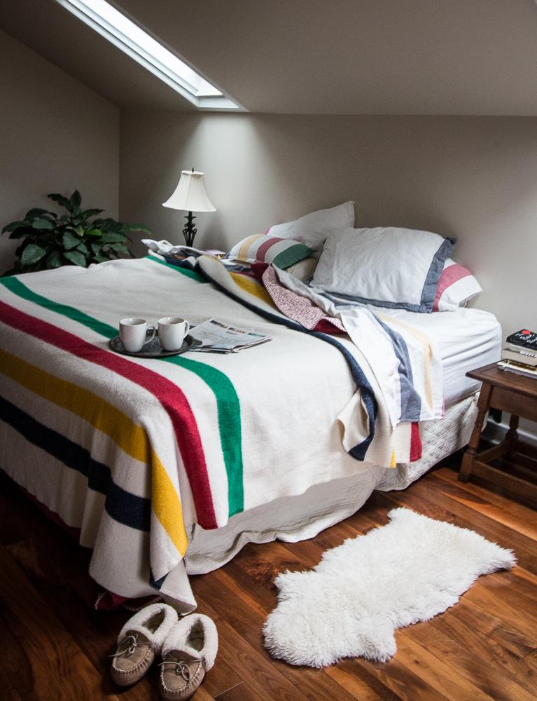 Winter bedroom   Linden & Lavender