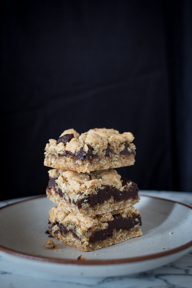 Oatmeal Fudge Bars | Linden & Lavender