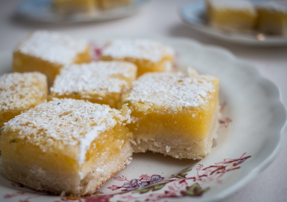 Lemon and Lime Shortbread Bars