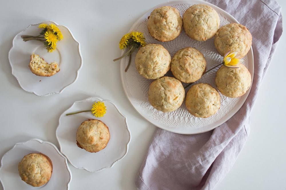 Dandelion Muffins | Linden & Lavender