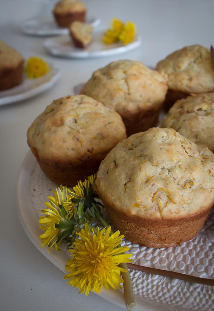 Dandelion Muffins   Linden & Lavender
