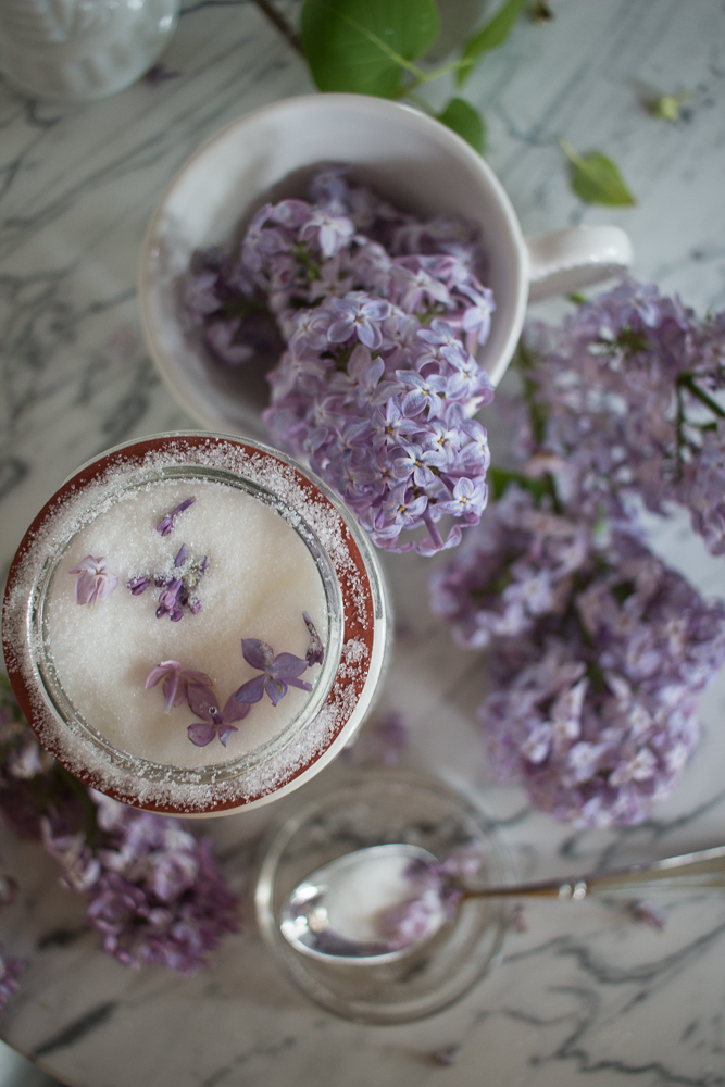 Lilac Sugar | Linden and Lavender