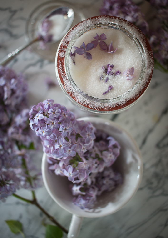 Lilac sugar for baking | Linden & Lavender