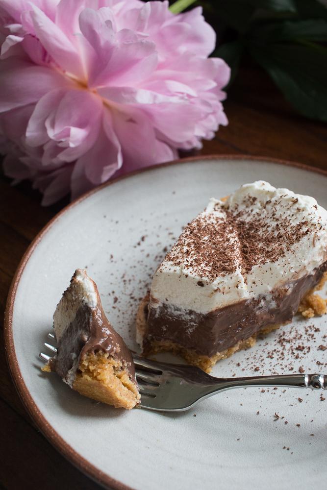 Easy Pudding Pie   Linden & Lavender