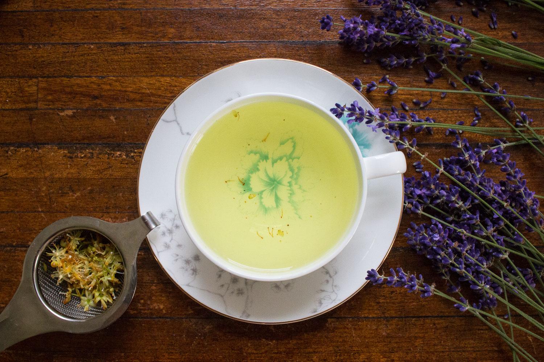 linden blossom tea | Linden & Lavender