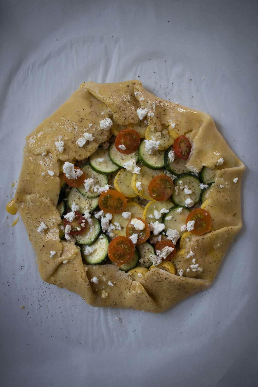 unbaked galette