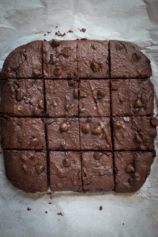 bean brownies | Linden & Lavender