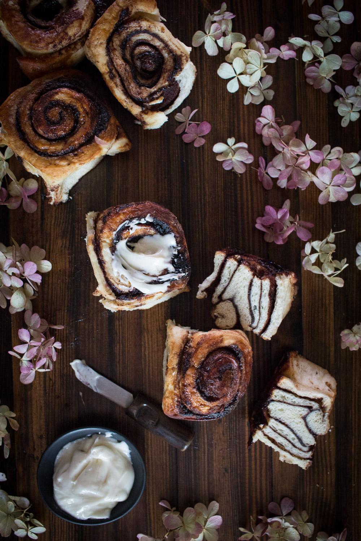 cinnamon buns | Linden & Lavender