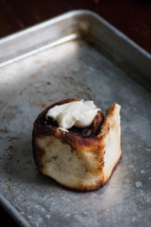 The last cinnamon roll