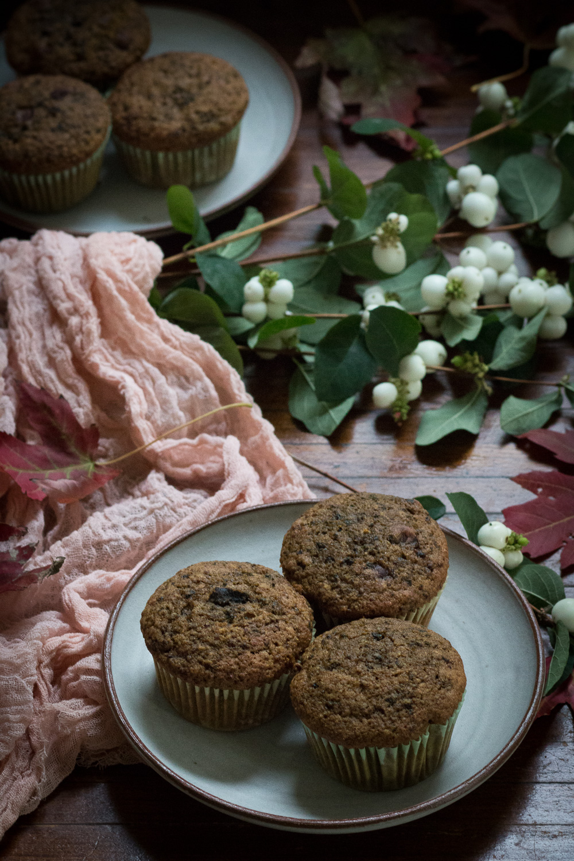 beet spiced muffin | Linden & Lavender