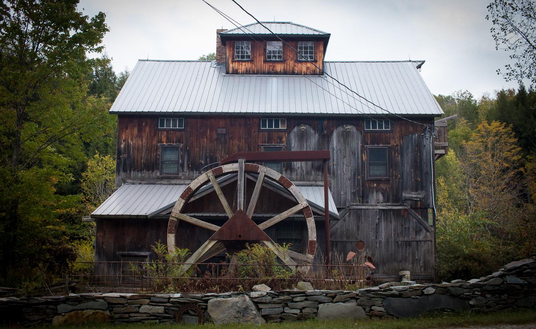 Old mill Vermont   Linden & Lavender