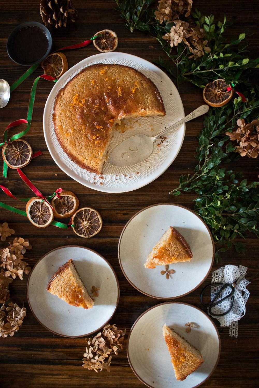 Spelt Orange Cake | Linden & Lavender